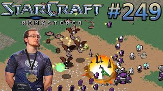 CARTOONED - IdrA (T) vs fadetowhite (Z) - StarCraft: Remastered - Replay-Cast #249 [Deutsch]