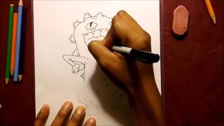 RUGRATS (REPTAR) SPEED DRAWING