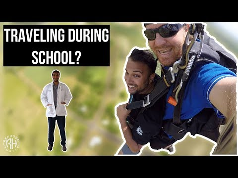 How to travel the world during pharmacy school | MUDIT VERMA