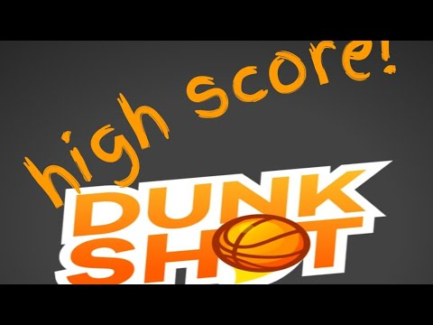 Dunk Shot!| Night Mode | New Best!!