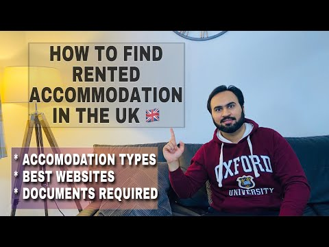 How To Rent An Accommodation In UK? Accommodation Types | Best Websites To Find And Documents Needed