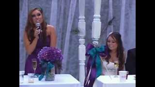 best man and maid of honor wedding speeches