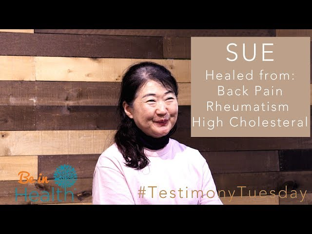 Unspeakable peace! Healed from Back Pain & Rheumatism - Sue's Testimony #TestimonyTuesday