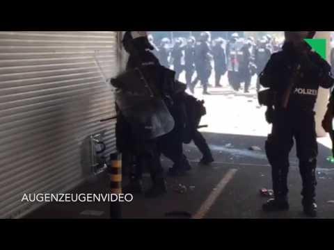 Ausschreitungen nach FC Basel–FC Zürich: Videodokumentation des Polizeieinsatzes