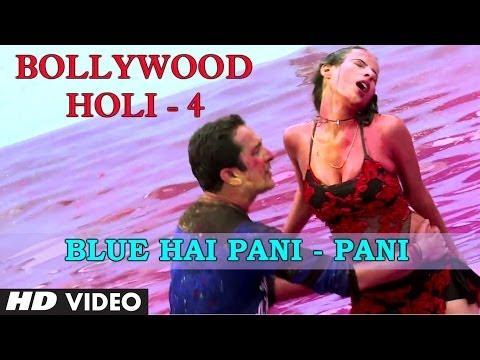 Blue Hai Pani Pani  Bollywood Holi  4 Balam Pichkari  Sandeep Kapoor, Sonia Sharma