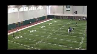 Nick Pierson QB Burlington (Iowa) QB CSU Camp July 25, 2014