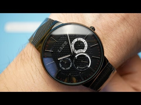 ⌚ Aliexpress Watches Review LIGE 1853 Watch ► Lige Mens Watch Review