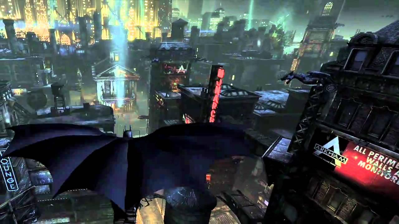 Batman Arkham City Gameplay - YouTube