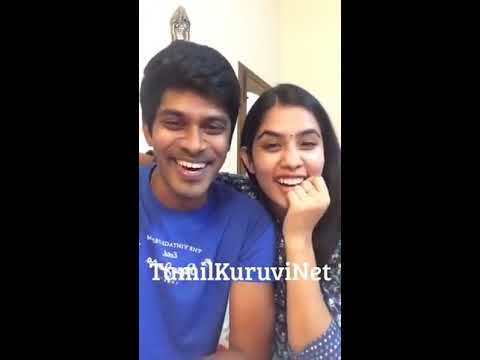 Arun & Sanjana_Tamil Real Dubsmash Couple  chat New Tamil  Video