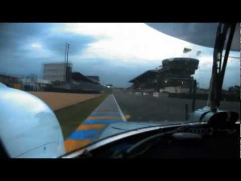 Audi R18 e-tron quattro #2 - Onboard lap of the Le Mans track