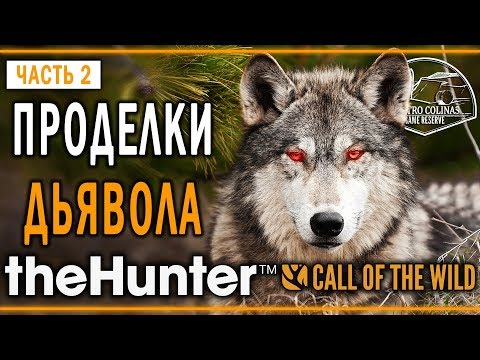 "theHunter Call of the Wild #2 🐺 - Проделки Дьявола - Заказник ""Куатро Колинас"""