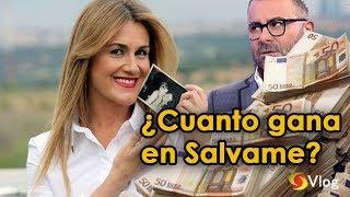 "¿Cuanto gana Carlota Corredera por "" Sálvame "" de telecinco / Mediaset ?"