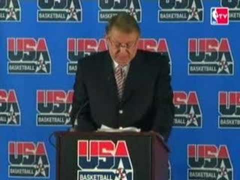 USA Basketball Announces 2008 Olympic Team