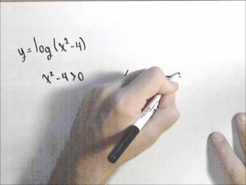 Domain of logarithmic functions youtube domain of logarithmic functions ccuart Image collections