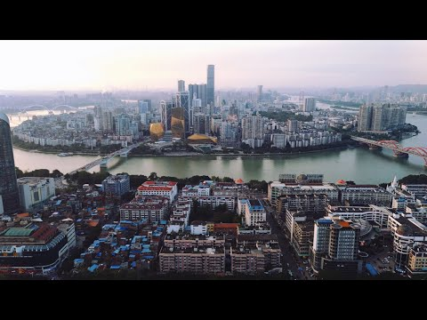 On a Mountain Looking at Liuzhou China!