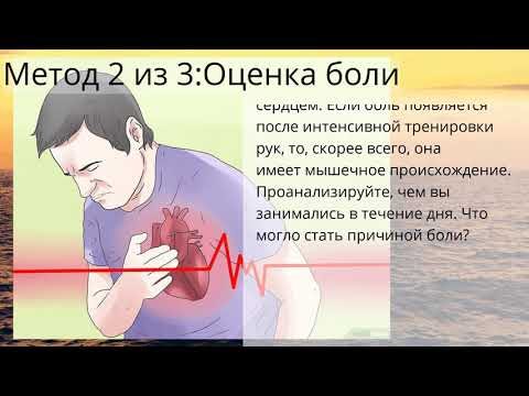 Болит сердце тянет левую руку