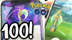100% PERFECT *SHINY CRESSELIA* CATCH IN POKÉMON GO!