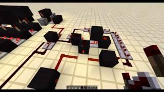 Minecraft Poradnik #10 [Redstone] - Kod PIN z systemem zabijania ;)