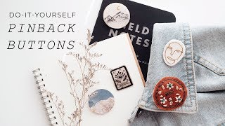 DIY pinback buttons (without a machine)