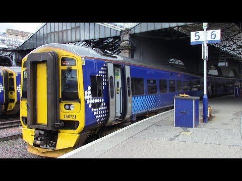 ScotRail Far North Line Inverness ⇒ Invergordon 158 721