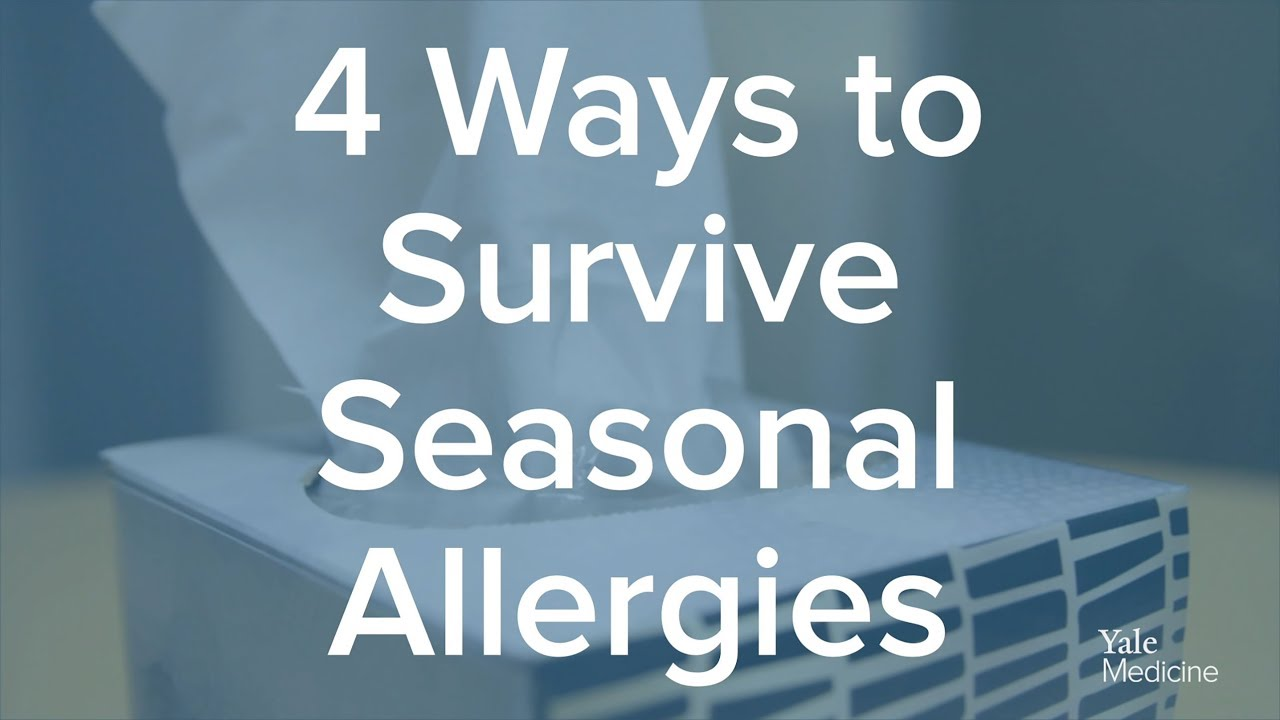 How To Deal With Summer Allergies
