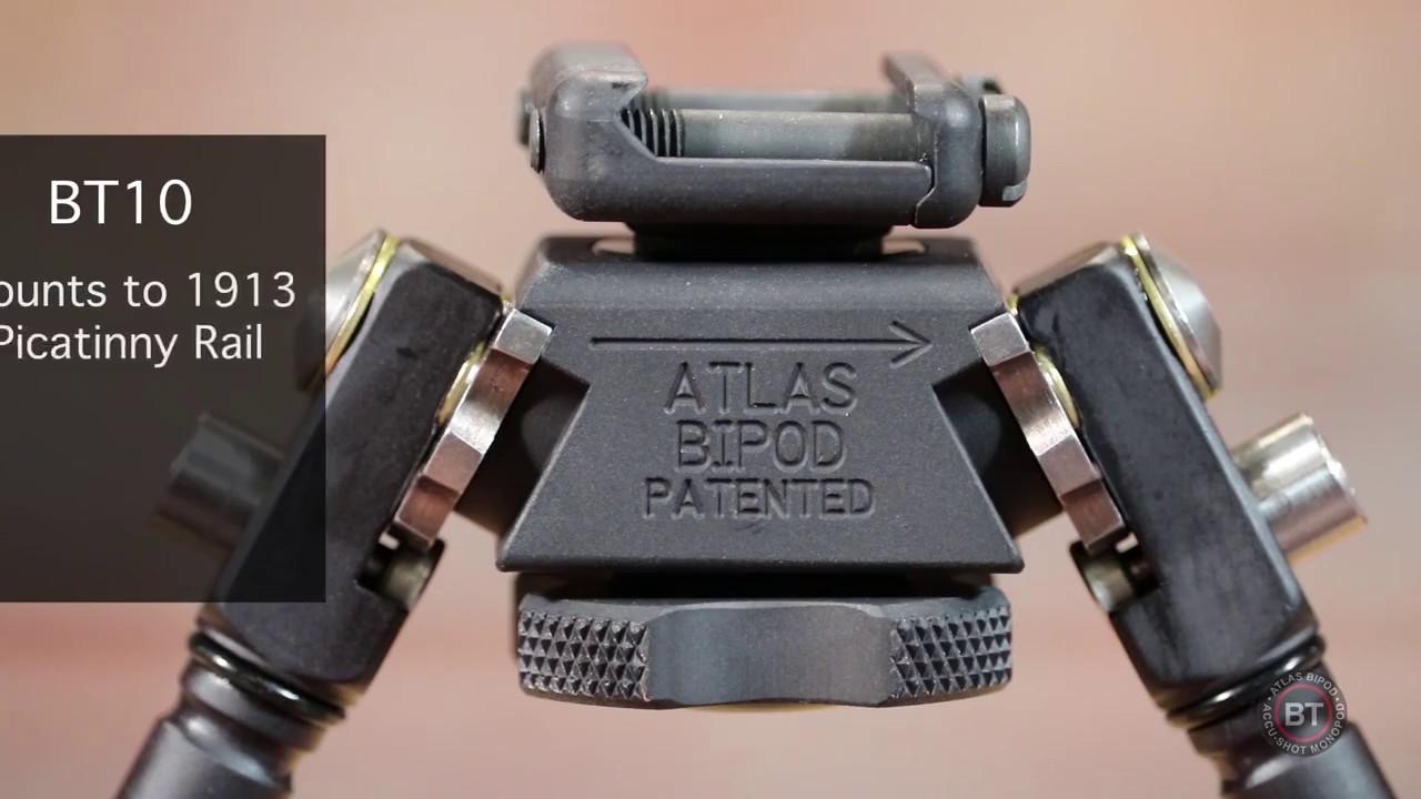 Atlas BT10 Series Bipod Tutorial