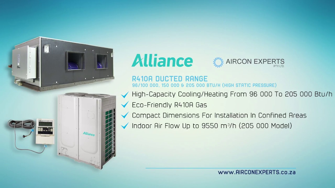 Alliance - Ducted Air-conditioning and Central Aircon Systems 145 ...