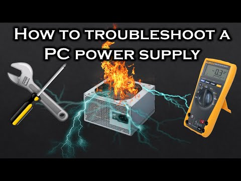 [Tutorial] How to troubleshoot a PC power supply (PSU)