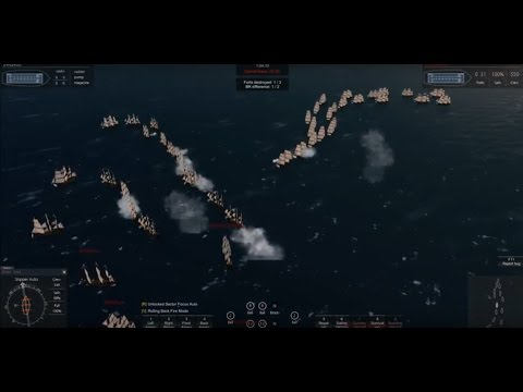 Naval Action Portbattle in Windward Islands (Bridgetown) 20.11.2016 german/english
