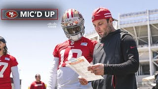 Mic'd Up: Wes Welker Works with Deebo Samuel at 49ers OTAs