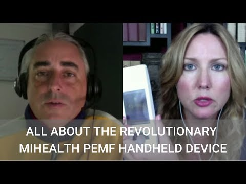 #209 All About the Revolutionary miHealth PEMF Handheld Device with Cyril Bourke - Wendy Myers