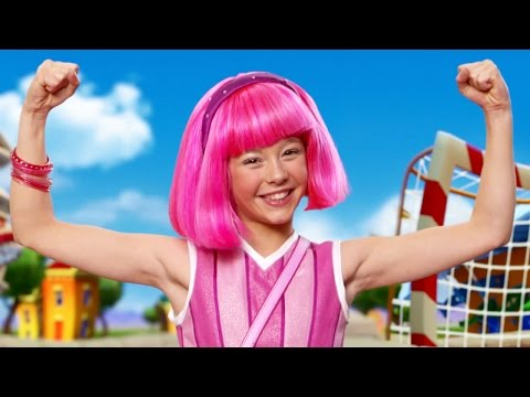 Lazy Town Stephanie Sings Never Say Never Roboticus | Lazy Town Songs