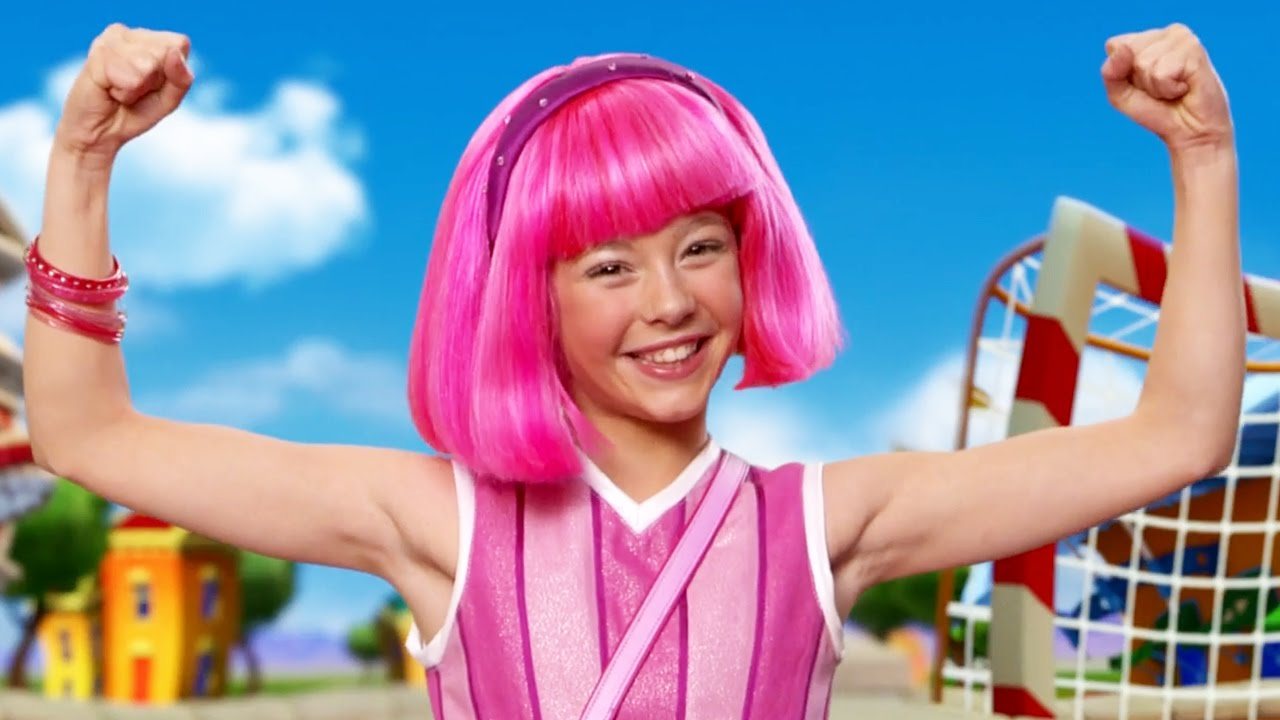 Lazy Town Stephanie Sings Never Say Never Roboticus Lazy Town Songs