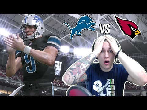 Madden NFL 17 Detroit Lions Franchise- Year 3 Game 13 at Arizona Cardinals