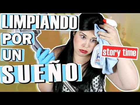 Mi experiencia como LIMPIADORA | Story time