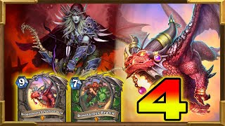 Hearthstone: New Dragons Highlander Hunter With Dragonqueen Alexstrasza Part 4 |  Descent of Dragons