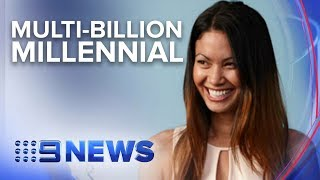 Australia's Melanie Perkins is the Co-Founder of Canva   Nine News Australia