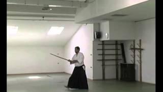 Aikido: ejercicios con Bokken y Jo - Giuseppe Ruglioni