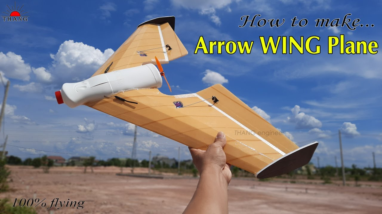 Download How to make Remote Control Arrow WING at home | 100% flying