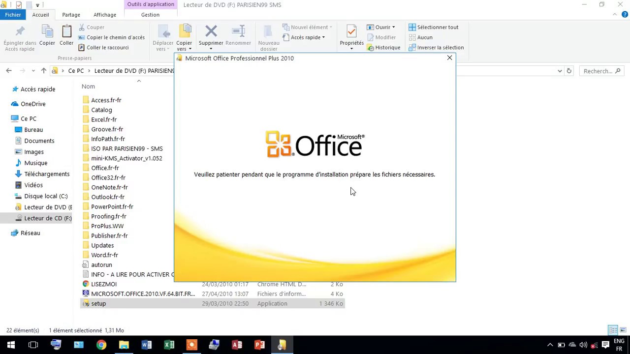 Telecharger Et Installer Microsoft Office 2010 En 5 Minutes