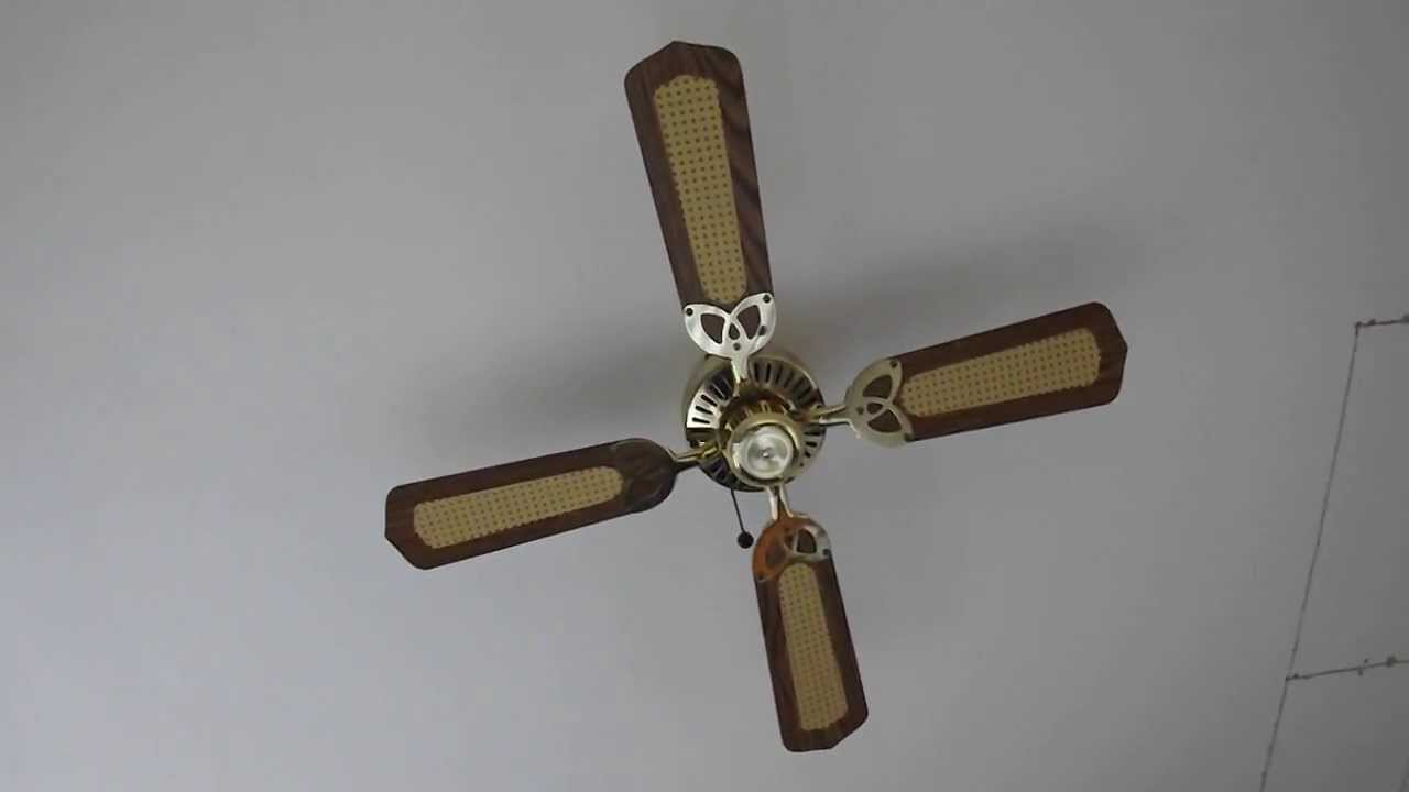 fantasia ceiling fan above my bed - youtube
