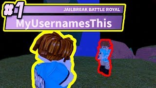 CRAZIEST JAILBREAK VICTORY ROYALE EVER!!! | Roblox Jailbreak Winter Battle Royale Update