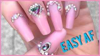 DIY nails using dual forms and polygel