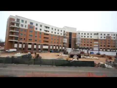 Whitney Center Timelapse Construction