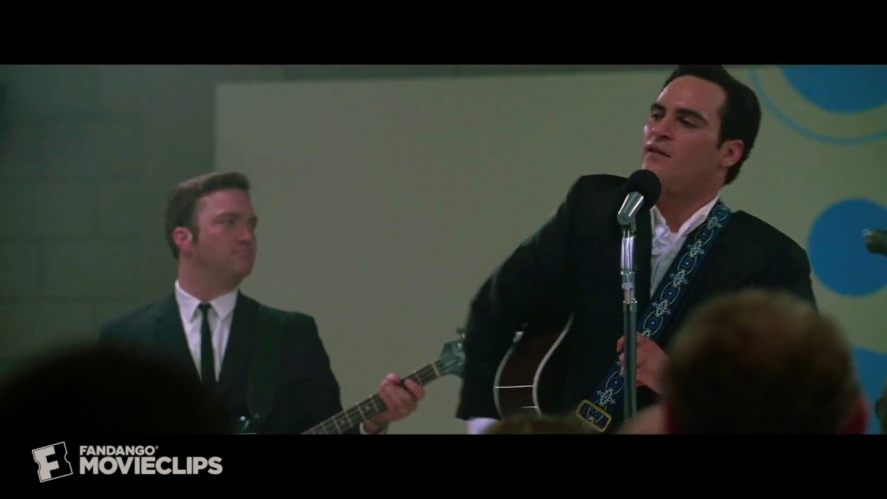 Johnny Cash Walk The Line Folsom Prison Yellow Water Youtube