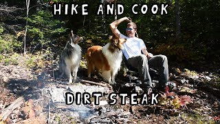 Hike and Cook - Dirt Steak
