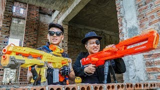 LTT Nerf War : Captain SEAL X Warriors Nerf Guns Fight Dr Lee Group Team Hunting