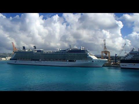 BARBADOS Cruise Port - Celebrity Equinox, Celebrity Summit & Rotterdam