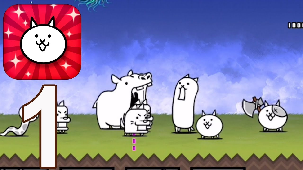 Download The Battle Cats - Gameplay Walkthrough Part 1(iOS, Android)
