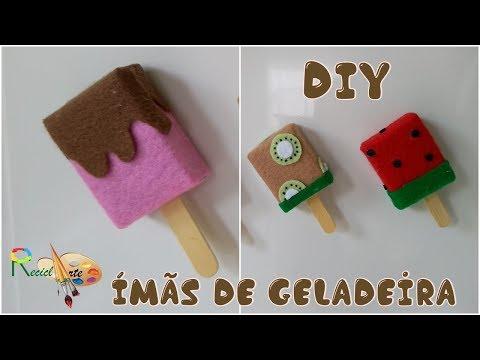 DIY | Ímãs De Geladeira Usando Caixa De Fosforo #RECICLARTE